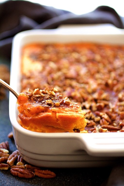 15 Best Sweet Potato Recipes for Thanksgiving-sweet-potato-souffle-1