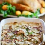 Ultimate Blue Cheese Potatoes Au Gratin