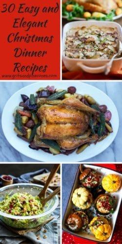 Easy Christmas Dinner Ideas.30 Elegant Christmas Dinner Menu Ideas