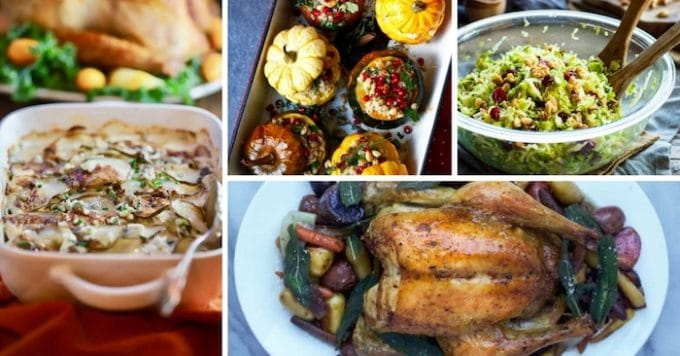30 Elegant Christmas Dinner Menu Ideas