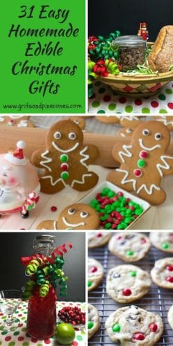 31 Easy Homemade Edible Christmas Gifts