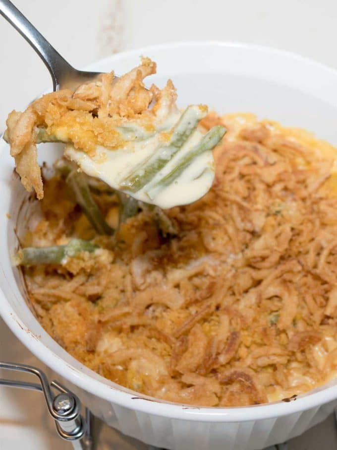 Grown Up Green Bean Casserole
