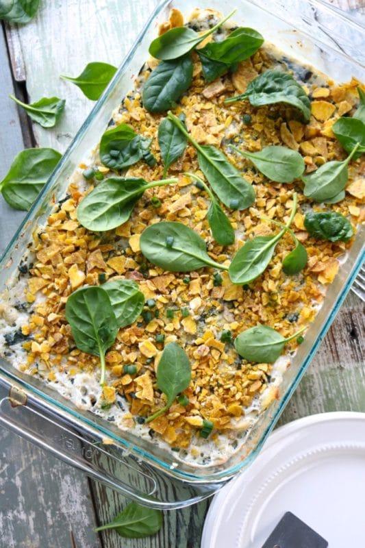 spinach-artichoke-dip-casserole