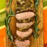 Herb Crusted Pork Tenderloin 10