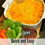 Buffalo Chicken Dip Pinterest Pin