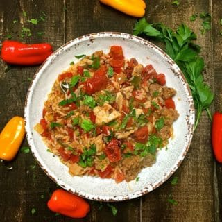 Easy Chicken and Sausage Jambalaya
