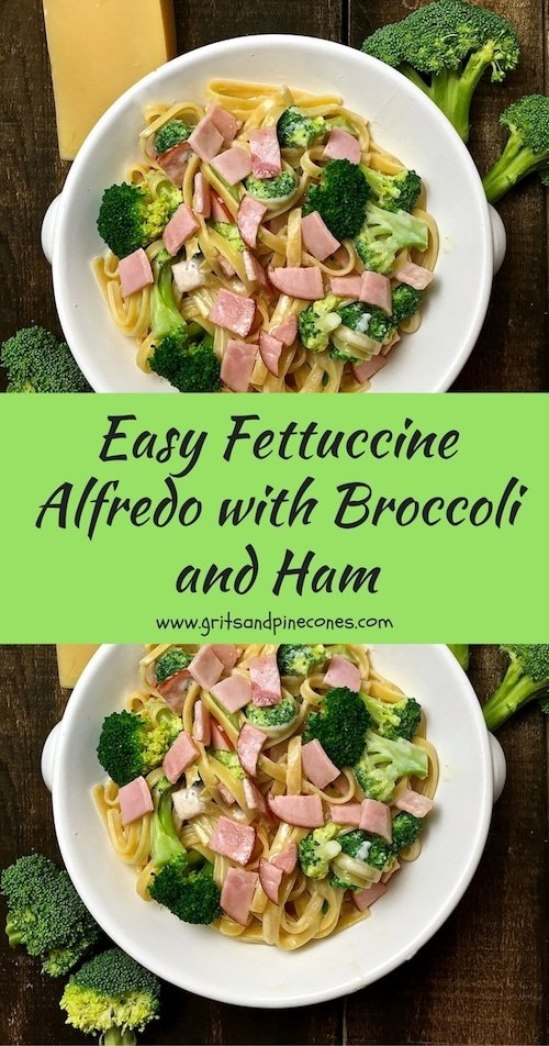 Easy Fettuccine Alfredo with Broccoli is the ultimate comfort food and I'll show you just how quick and easy it is to prepare delicious homemade Alfredo sauce. It's the ultimate comfort food and making delicious homemade Alfredo sauce is a snap with this easy recipe! #fettuccine, #fettuccinealfredo, #fettuccinerecipe, #comfortfood, #comfortfoodrecipes, #broccoli
