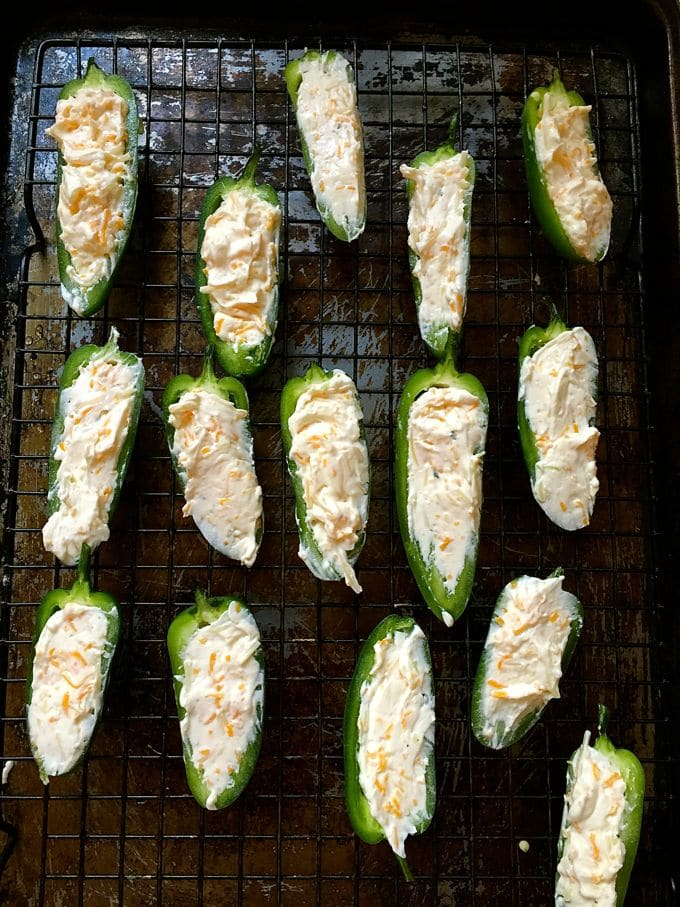 Baked Bacon Ranch Jalapeño Poppers