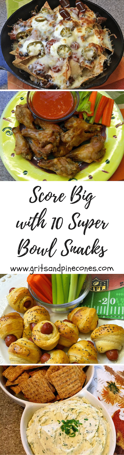 Whether you call them Super Bowl snacks, appetizers, or party food these quick and easy recipes will help you score big on game day with your family and friends! #superbowlfood, #superbowlrecipes