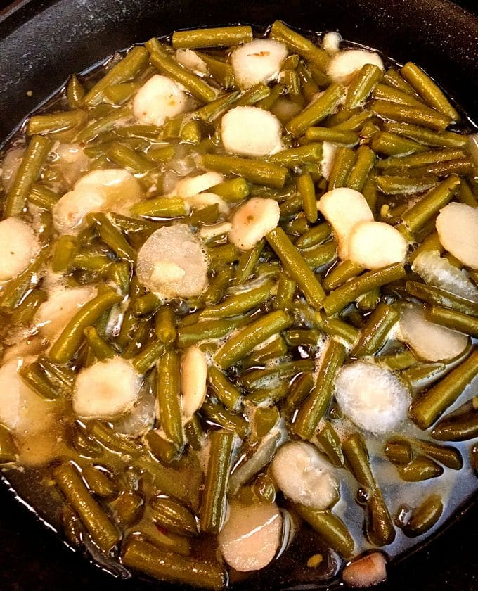 Sweet and Sour Green Beans 4