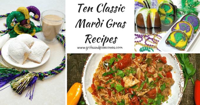 Ten Classic Mardi Gras Recipes
