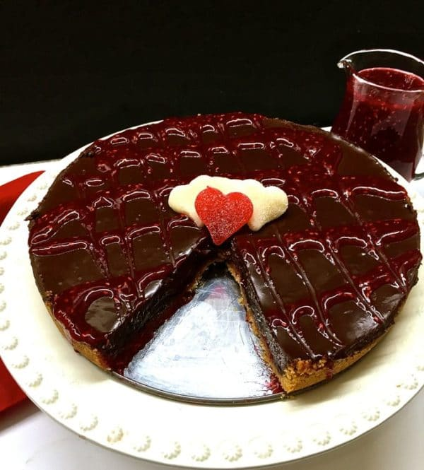 Chocolate Raspberry Tart 15