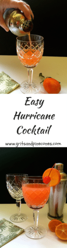 Easy Hurricane Cocktail Recipe