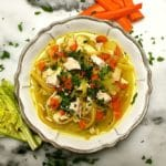 Roasted Chicken Noodle Soup-6