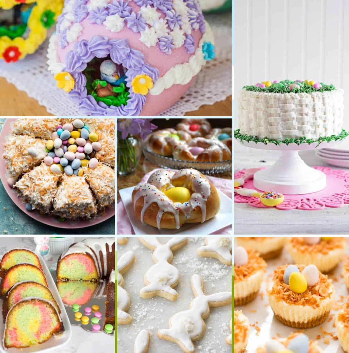 45 Easter Desserts Collage Facebook