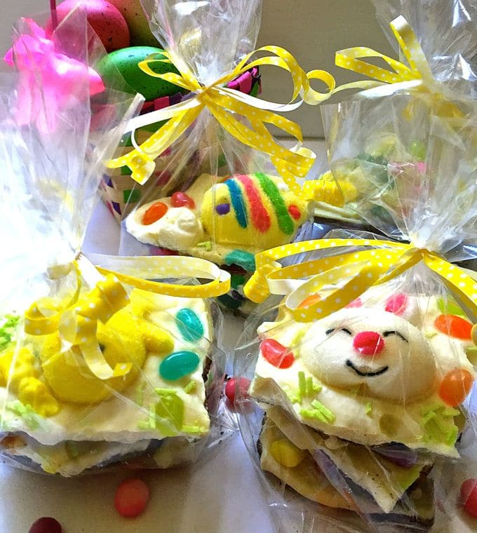 Easter Bunny White Chocolate Bark-1