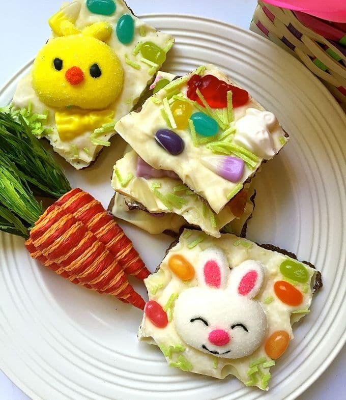 Easter Bunny White Chocolate Bark-2
