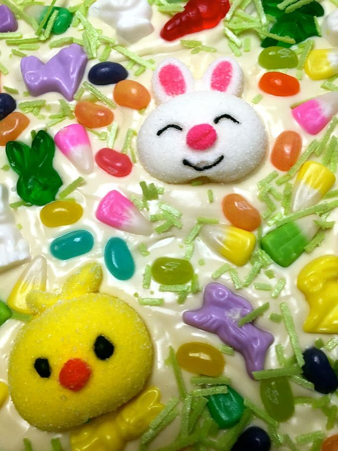Easter Bunny White Chocolate Bark-4