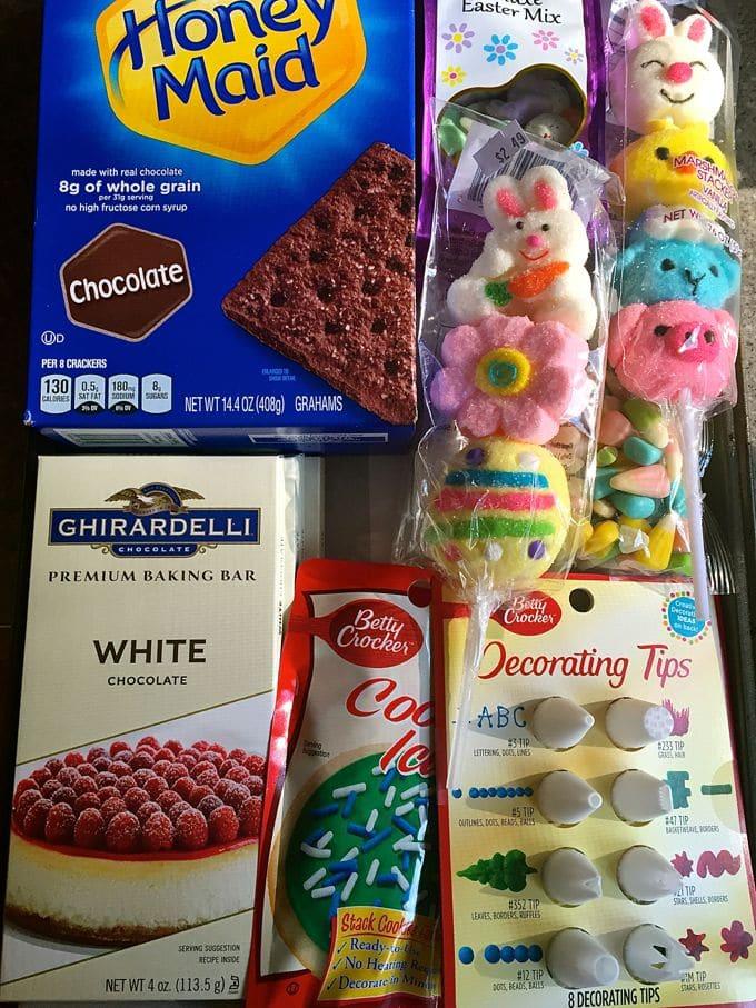 Easter Bunny White Chocolate Bark-9