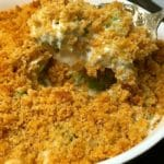 Ultimate Broccoli Cheese Casserole-6