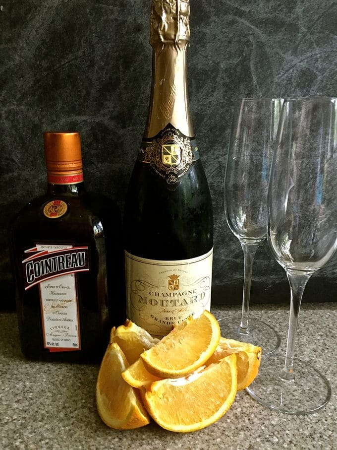 Classic Mimosas with a Twist-