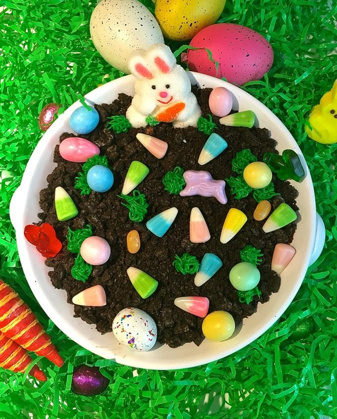 Easter Chocolate Cheesecake Dip-11