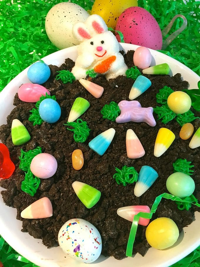Easter Chocolate Cheesecake Dip-7