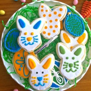 How to Make and Decorate Easter Cookies