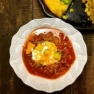 Super Simple Chicken Chorizo Chili-5
