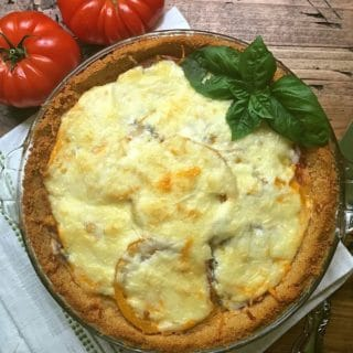 Easy Classic Southern Tomato Pie