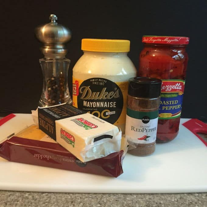Kay's Southern Pimento Cheese Spread ingredients