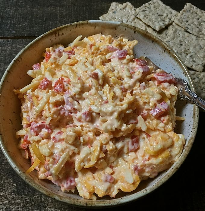 Kay's Southern Pimento Cheese Spread appetizer