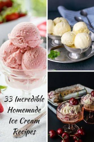 33 Incredible Homemade Ice Cream Recipes