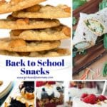 21 Healthy Back to School Snacks and Lunch Box Treats
