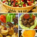 21 Quick and Easy Game Day Snacks lots of choices