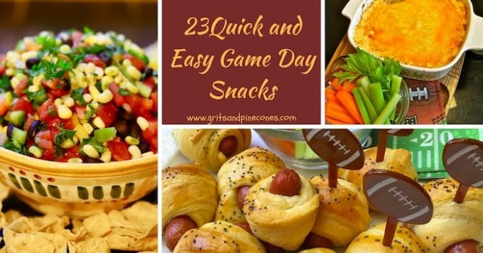 Recipes for 23 Quick and Easy Game Day Snacks