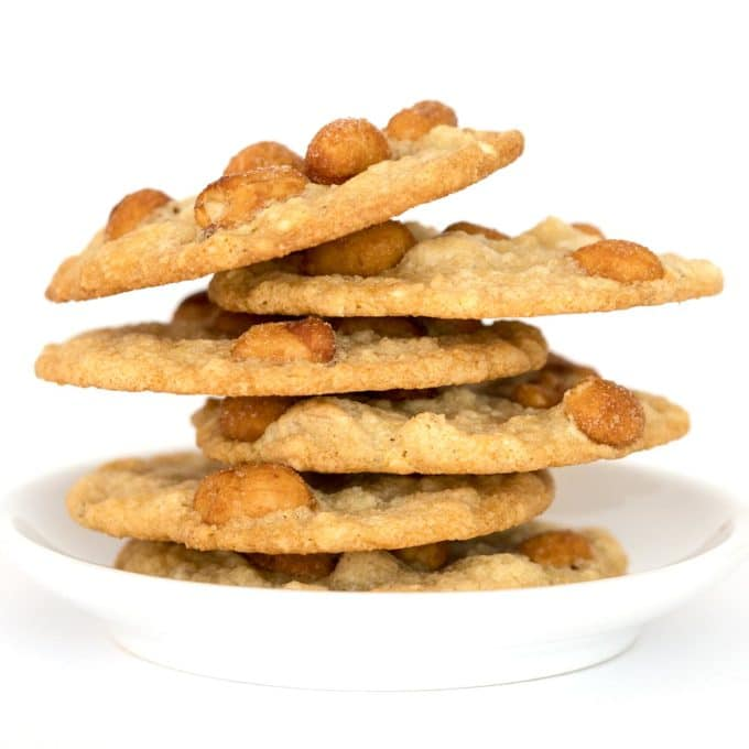 Skinny Peanut Cookies