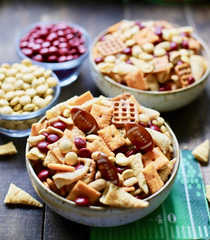 Quick and Easy Game Day Snack Mix