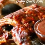 Best Oven Baked Baby Back Ribs