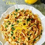 Easy Orzo Pilaf with Lemon and Chives