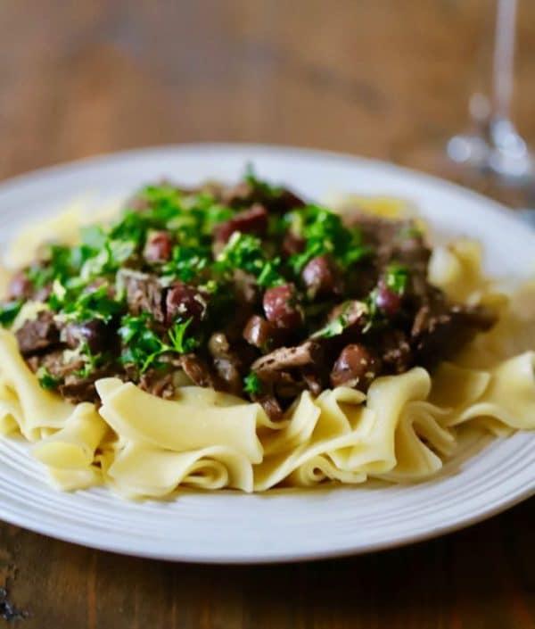 Slow Cooker Mediterranean Roast Beef ready to savor
