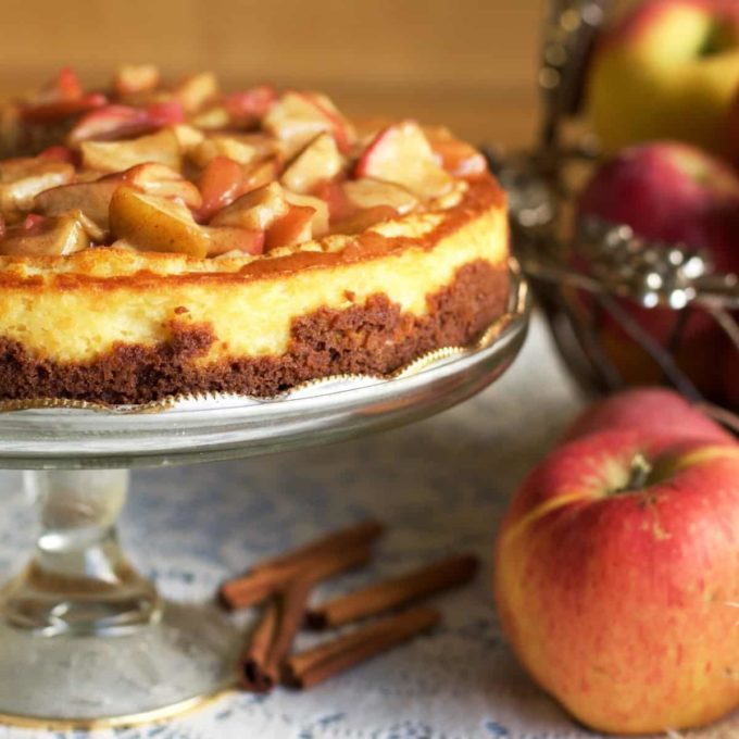 Apple Pie Cheesecake Recipe