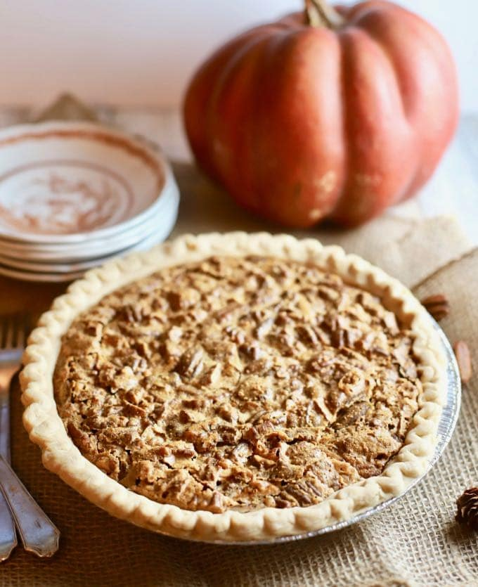 Dot's Ultimate Southern Pecan Pie just in time for Thanksgiving