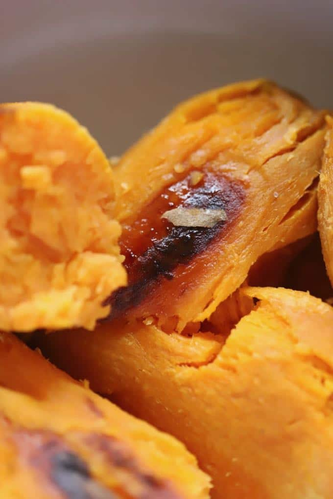 Baked sweet potatoes for Easy Southern Sweet Potato Pie