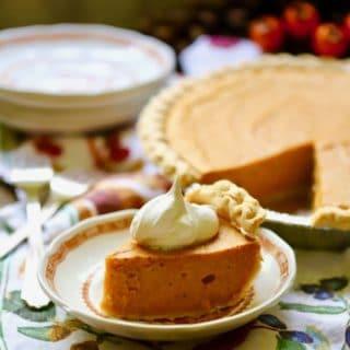 Easy Southern Sweet Potato Pie Recipe