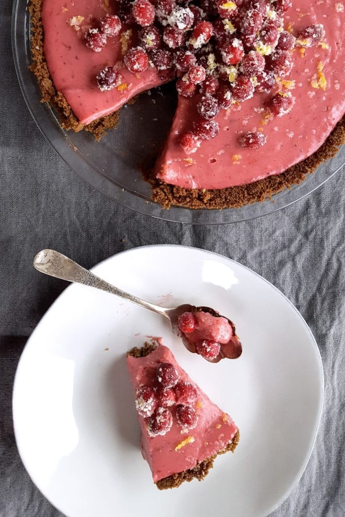 Cranberry Orange Pie
