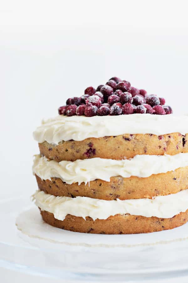 Cranberry Holiday Cake