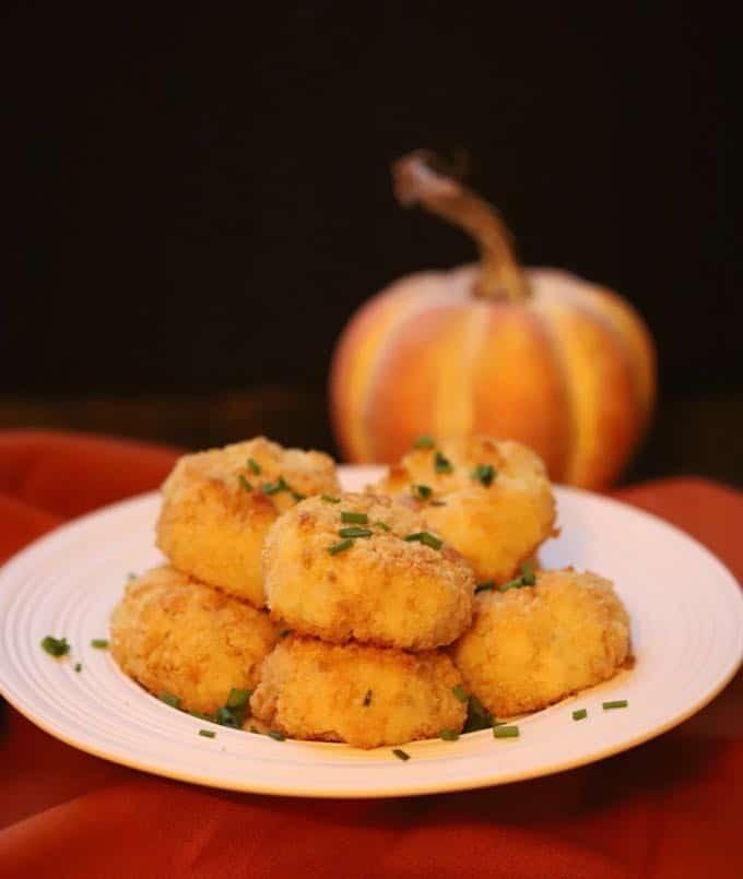 Leftover mashed potato Loaded Crispy Baked Potato Croquettes