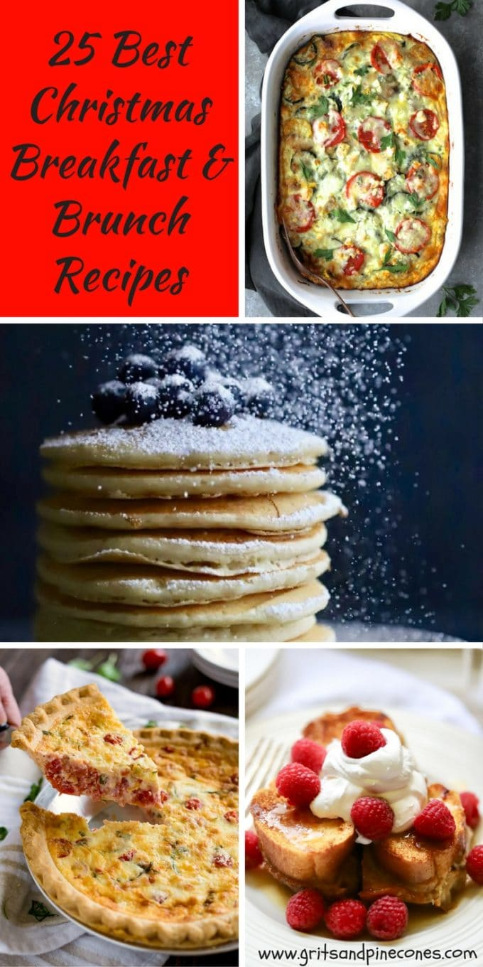 25 Best Christmas Breakfast Brunch Recipes