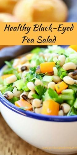 Healthy Black-Eyed-Pea-Salad